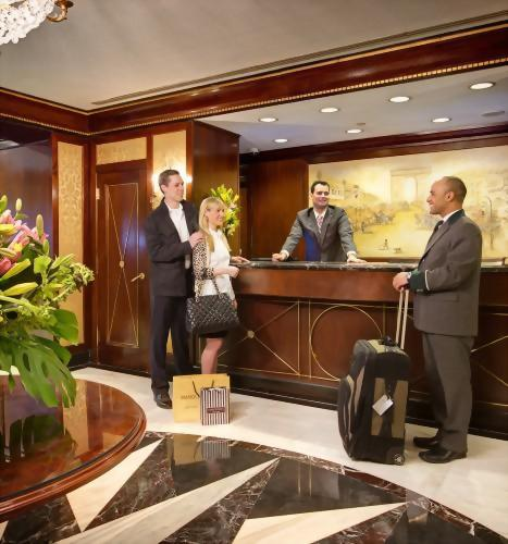 The Front Desk at the Hotel Elysee is always a lovely place to return to.  Check in is seamless and our staff is always happy to welcome back old friends and meet new ones!