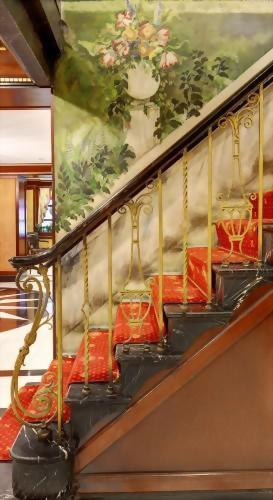 Grand Staircase of the Hotel Elysee New York by Library Hotel Collection