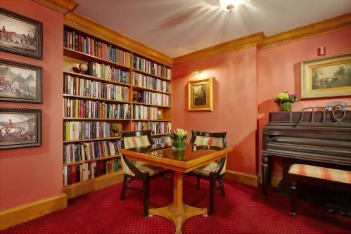 Books are always available for our guests in our Library.  Each hotel in the Library Hotel Collection has a library for their guests use!  Such a fun bonus!