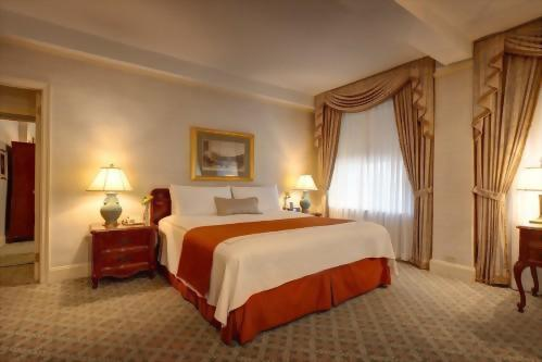 Junior Suite at the Hotel Elysee is approximately 450 square feet and perfect for up to 3 adults.