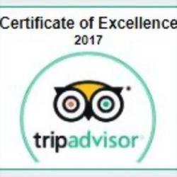 Hotel Elysee received TripAdvisor's Certificate of Excellence!