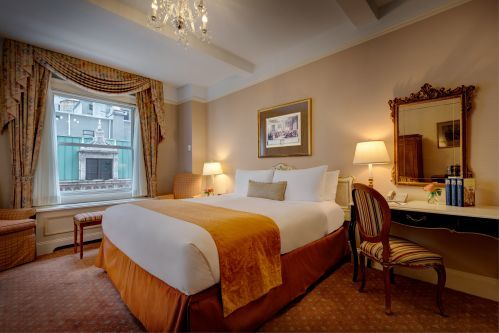 Deluxe Room with a King Bed at the Hotel Elysee