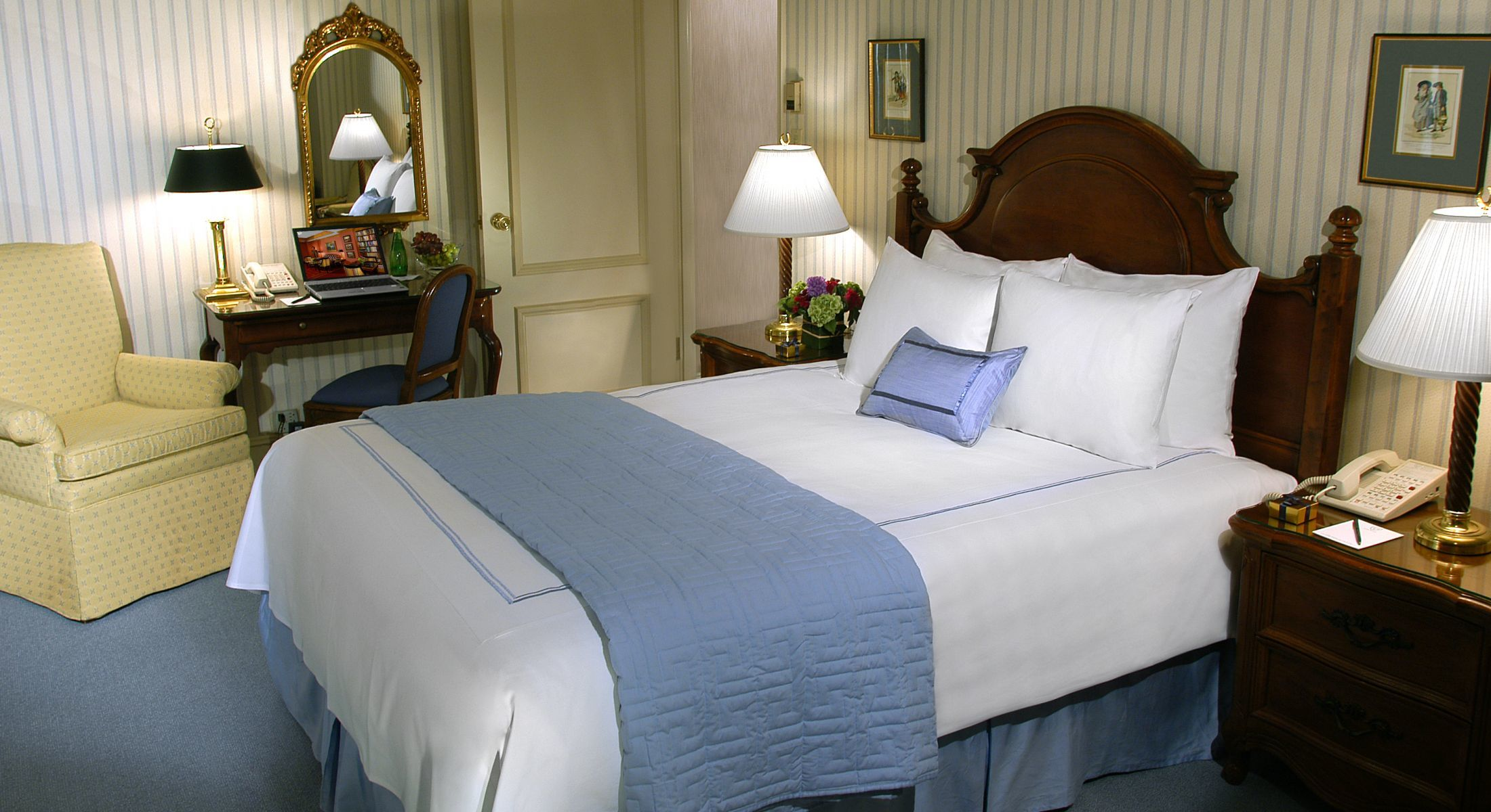 Our Deluxe Accessible Queen rooms are perfect for 1-2 guests and are ADA compliant
