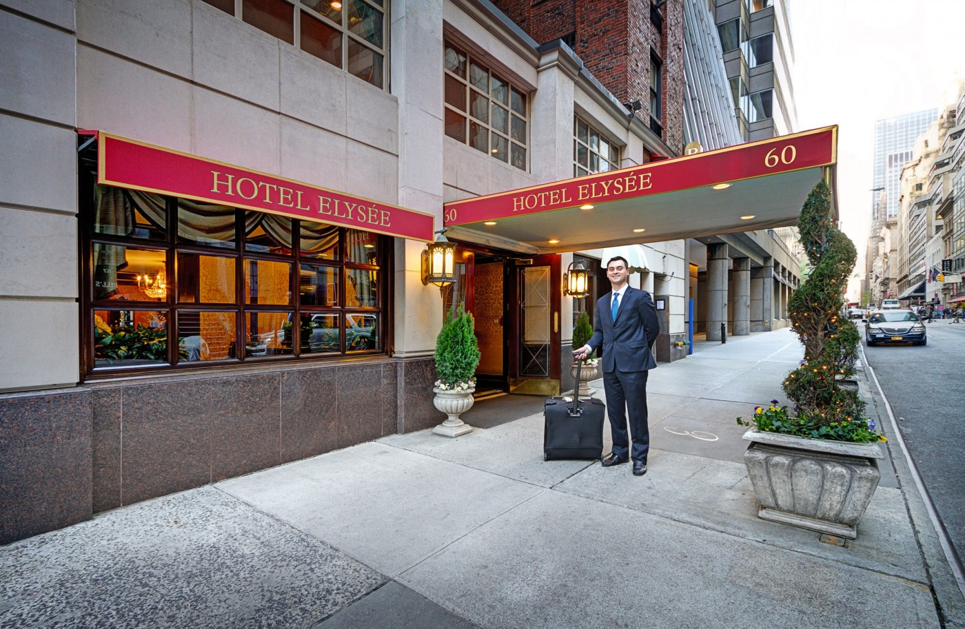 Welcome To The Hotel Elysee New York Ideally Located On 54th Street Between Park And Madison Avenue